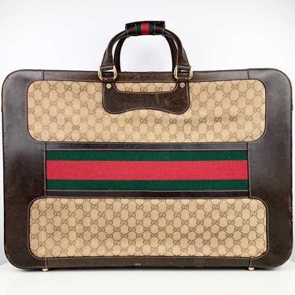 Gucci 1972 Vintage Trunk Suitcase